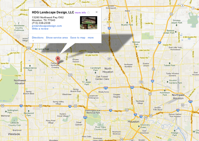 houston-landscape-design-location-map